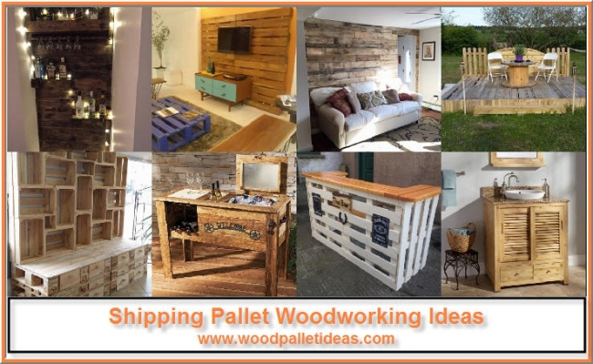Shipping Pallet Woodworking Ideas