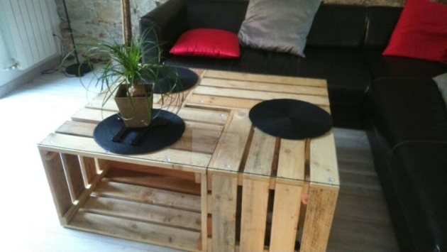 pallet crates table